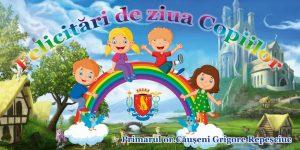 """Planul  desfăşurării activităților culturale cu prilejul Zilei Internaţionale a Copilului"""""""